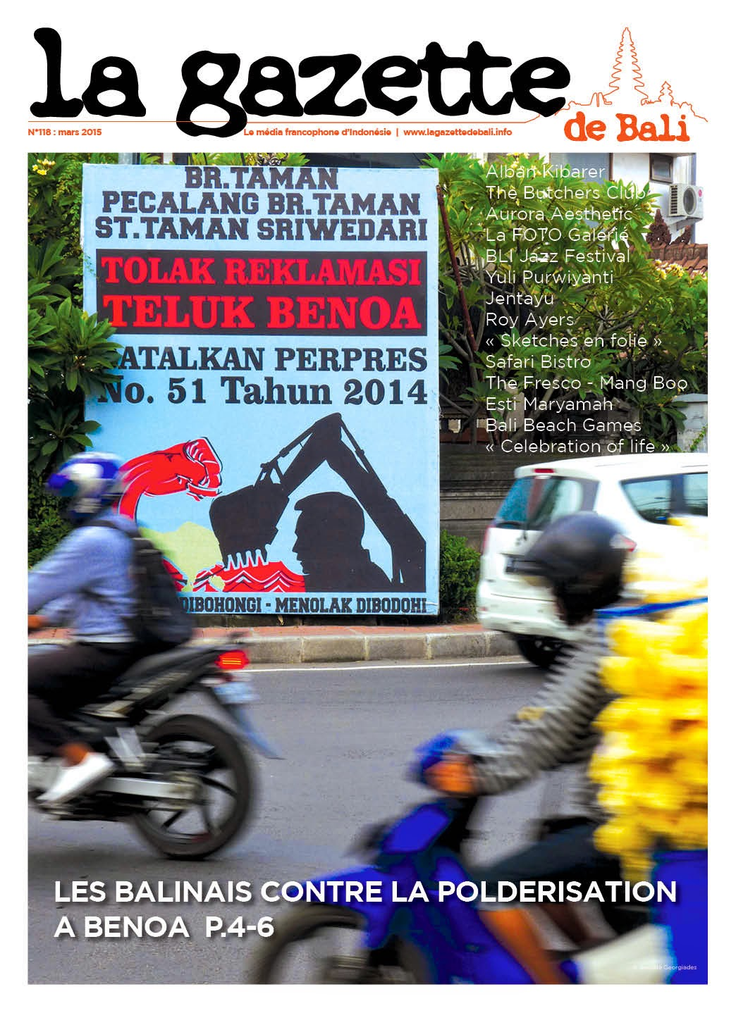 La Gazette de Bali mars 2015