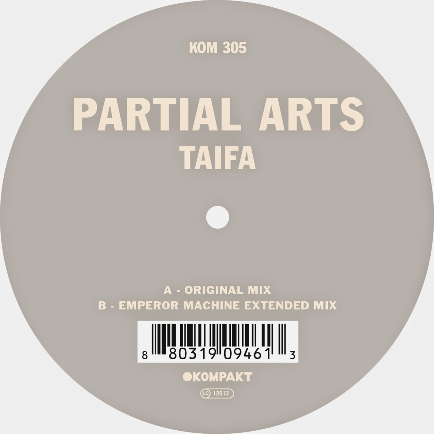 Discosafari - PARTIAL ARTS - Taifa - Kompakt Records