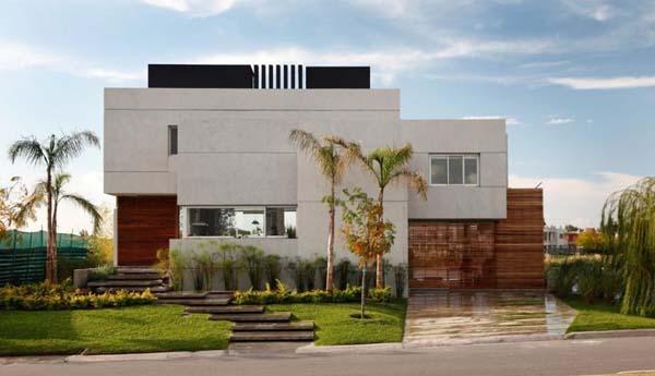 ideias jardins moradias : ideias jardins moradias:Djhonatan Box's: Casas contemporâneas sem telhado aparente
