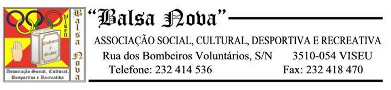 Balsa Nova - Associação Social, Cultural, Desportiva e Recreativa