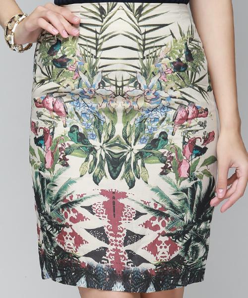 Aloha High Waisted Skirt