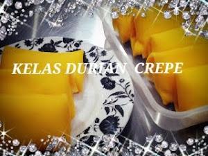 Kelas DIY Crepe RM200 [ durian, bberry & mille tiramisu crepe cake