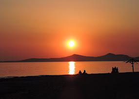 Sunset at Saronikos Bay