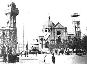 Torre del diario La Unión y la catedral