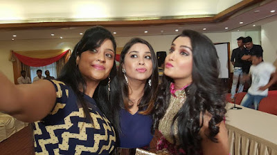 Amrapali Dubey, Pakhi Hegde and Aanara Gupta