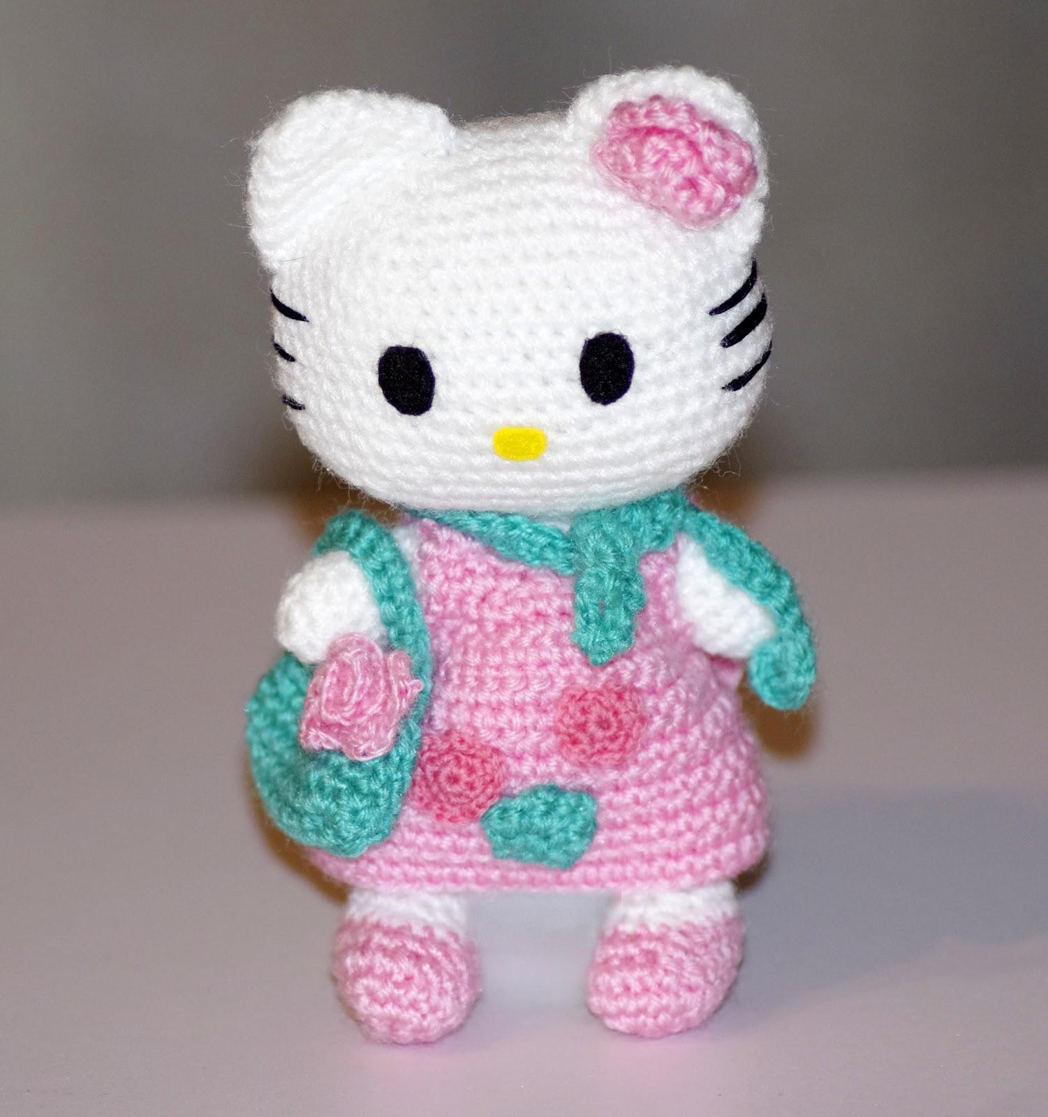 hello kitty схема вязания крючком