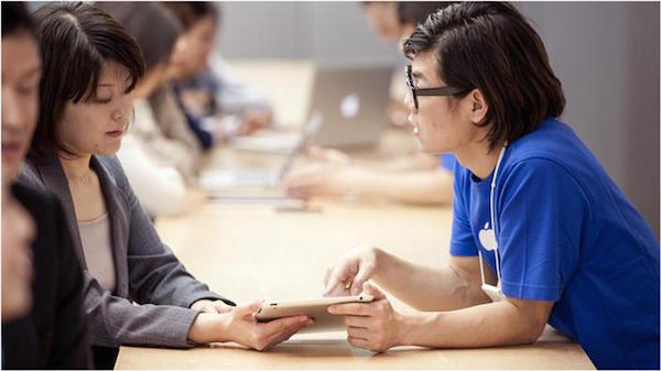 Apple StoreのGenius Bar