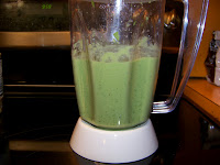 Everything has been blended, time to eat!