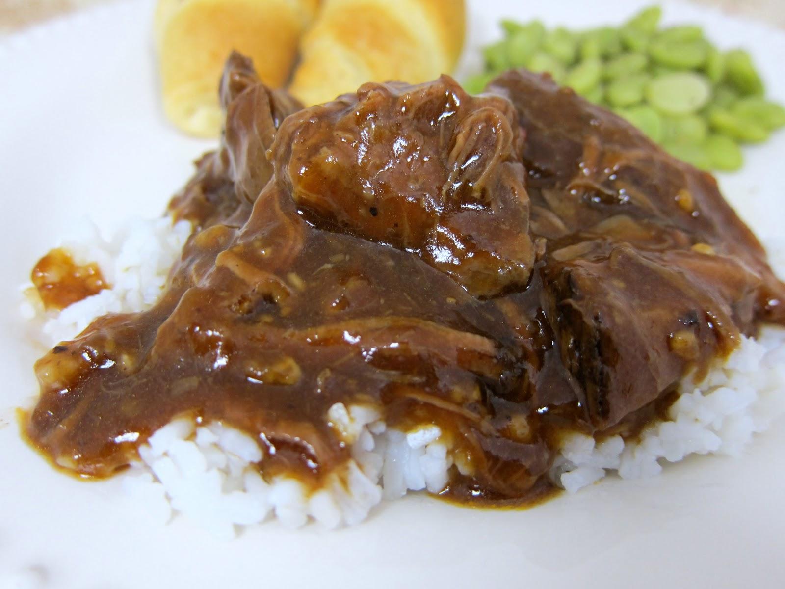 Three Envelope Pot Roast {Slow Cooker} | Plain Chicken