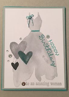 Project Life Love Story Bermuda Bay Stampin Up MidnightCrafting