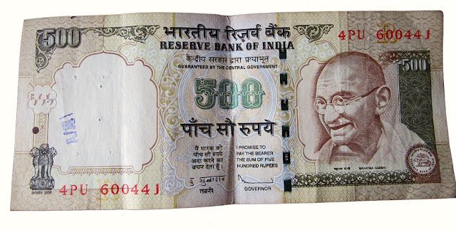 genuine and new 500 rupee note