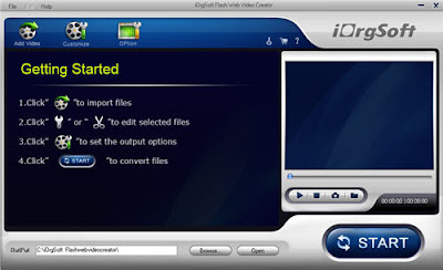 Flash Web Video Creator (Windows version) [Download]