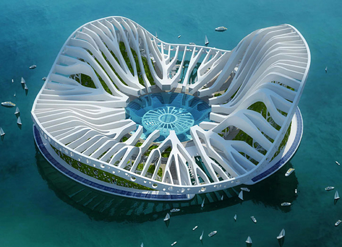 TATOOS SPONGEBOB Ultramodern architecture