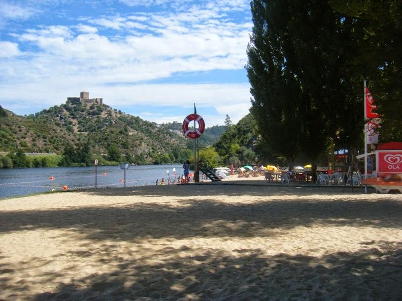 Zona de Areal da praia