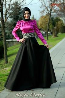 nisa moda 2014 tesett%C3%BCr Elbise modelleri65 nisamoda 2014, 2013 2014 sonbahar kış nisamoda tesettür elbise modelleri