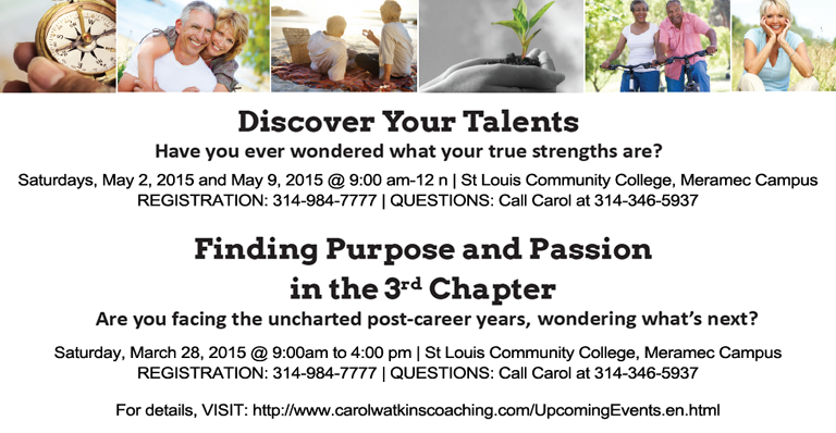 Aged 50+ life coaching classes