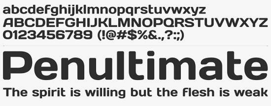 stylish fonts for designers
