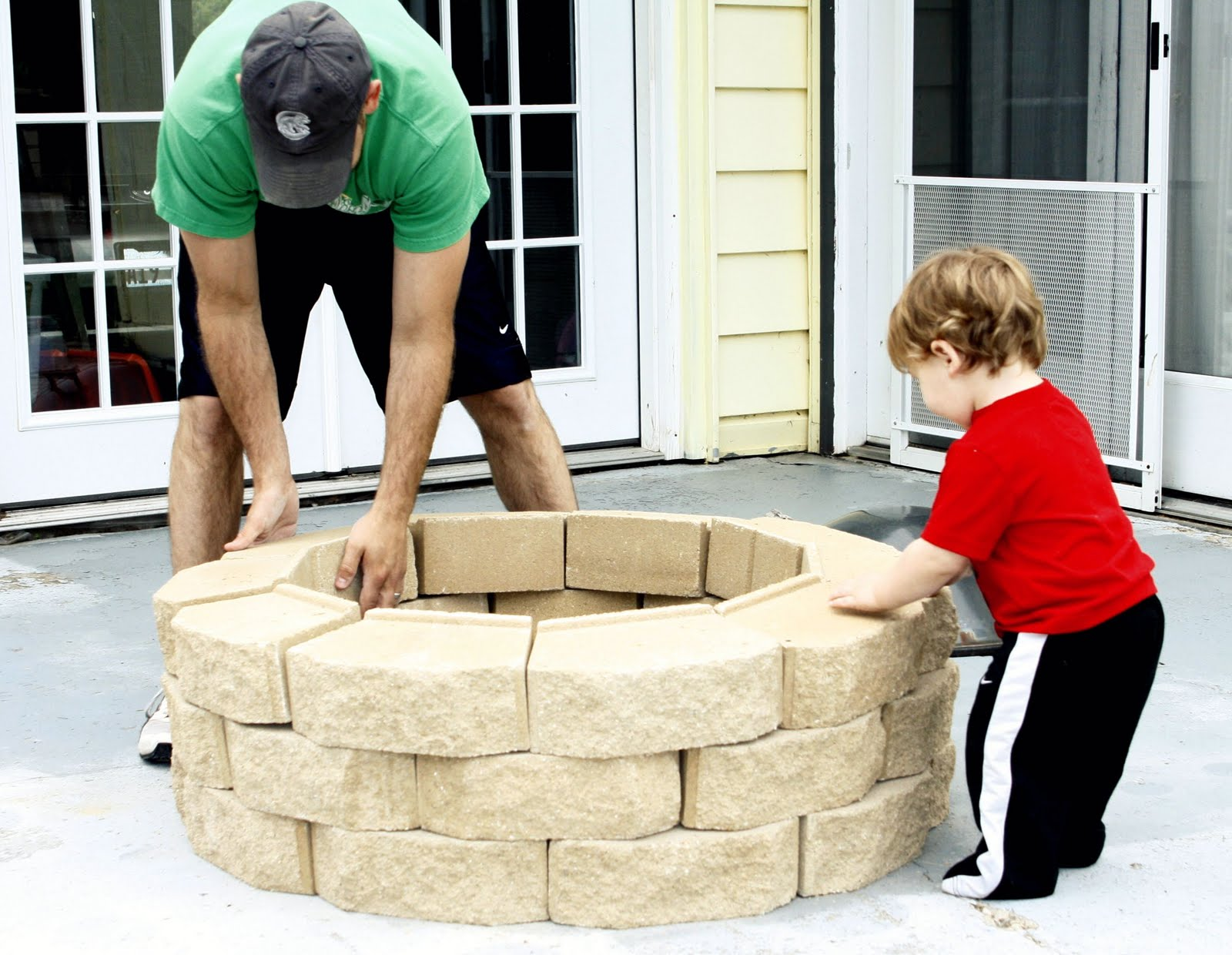 always chasing life diy fire pit