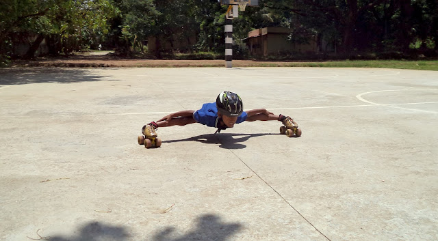 Meet Sreehari P, Class IV D - The Skating Wiz-kid of KV Kanjikode