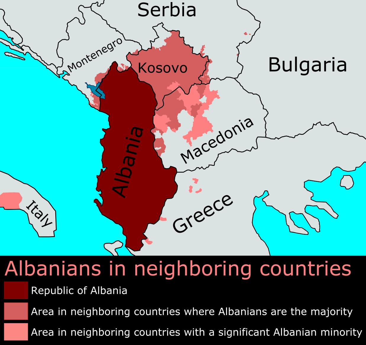 Im nahen ausland leben im kosovo und in nordwest mazedonien leben