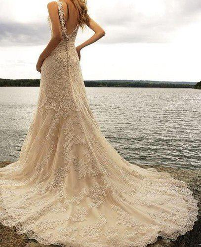 New wedding dress design for ladies
