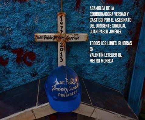 SANTIAGO CENTRO: ASAMBLEA DE LA COORDINADORA VERDAD Y CASTIGO