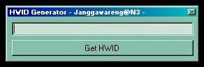 HWID Generator V2.0 - Janggawarengg@N3 -