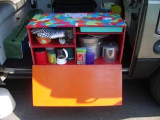 DIY Camper Kitchen Chuck Box