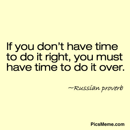 You Don Have Time Right Must