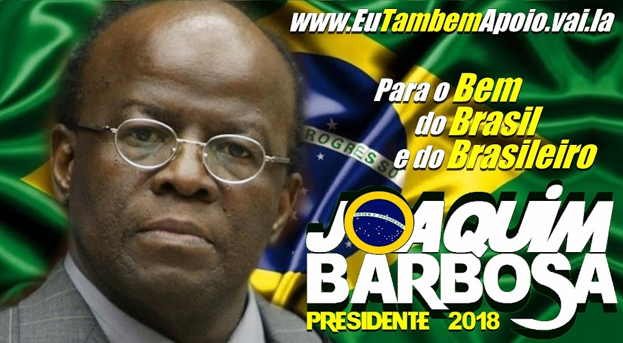 Joaquim Barbosa 2018