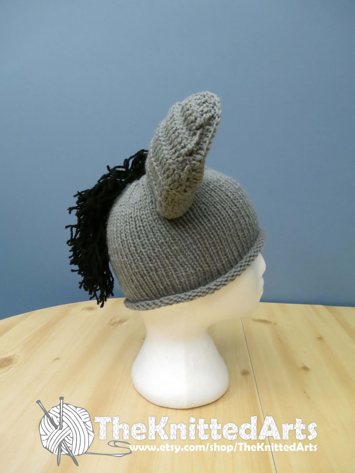 Knitting Pattern For Donkey Hat : TheKnittedArts: Knitting for the Donkey Sanctuary of Canada