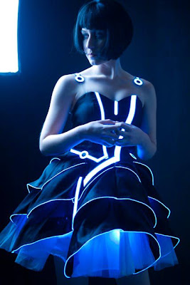 Tron Prom Dress by Jin Yo (x-post from -r-pics) 2011