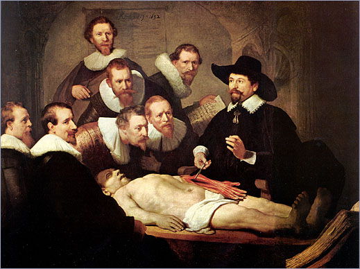 Arte y Cultura en la Escuela.: La lección de anatomía del Dr ...