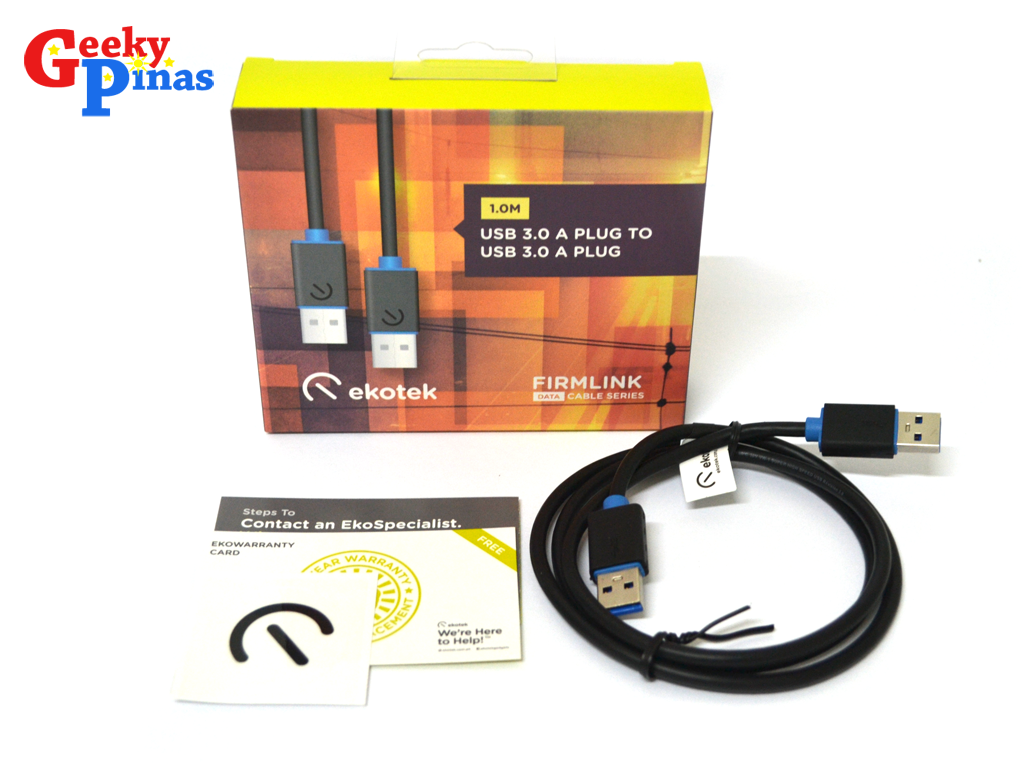 Ekotek Firmlink Cable Series Unboxing and Impressions!