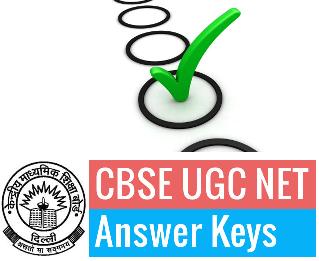 CBSE NET Answer key