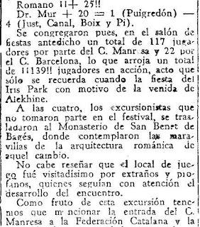 Festival ajedrecista en Manresa en 1933 (5)