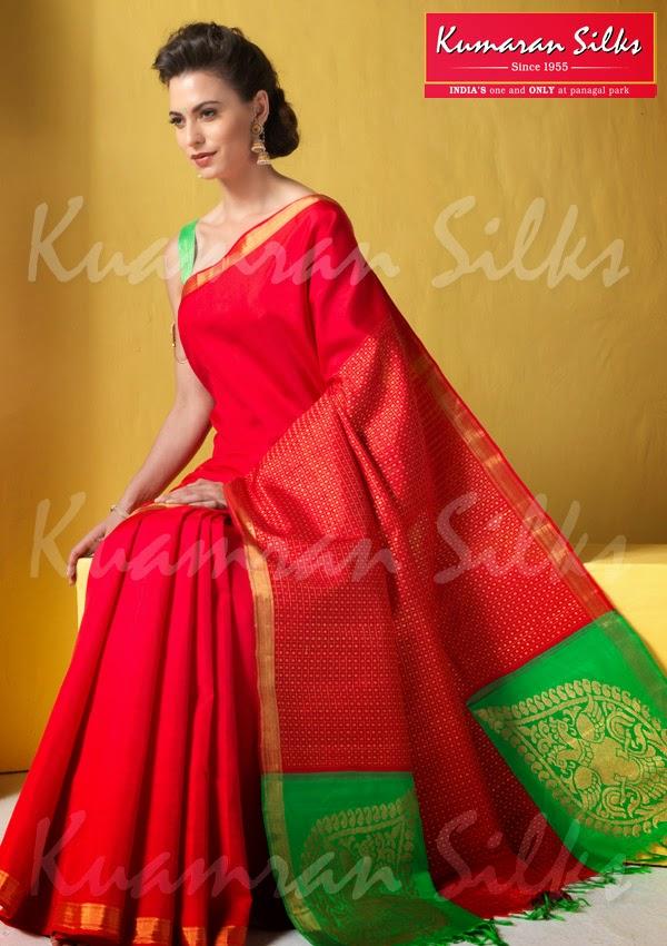 Kumaran Silks Bridal Sarees