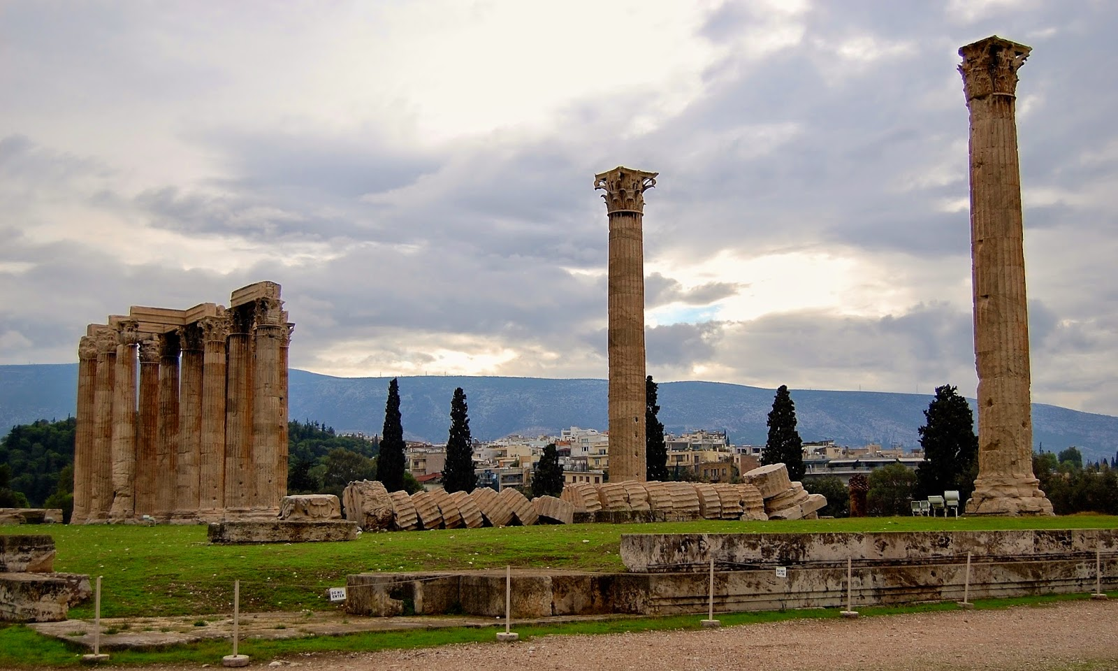 Ruins of the Temple of Olympian Zeus
