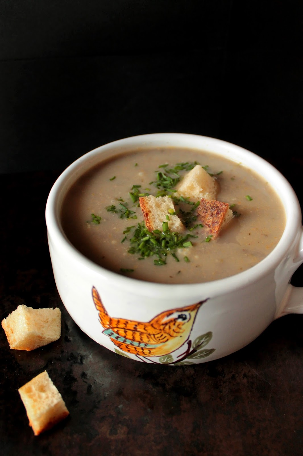 Food nasty flu season mushroom soup for Soup for a cold