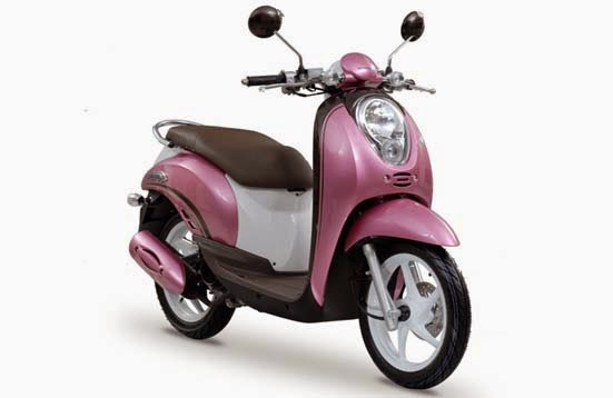 Honda Scoopy Pink