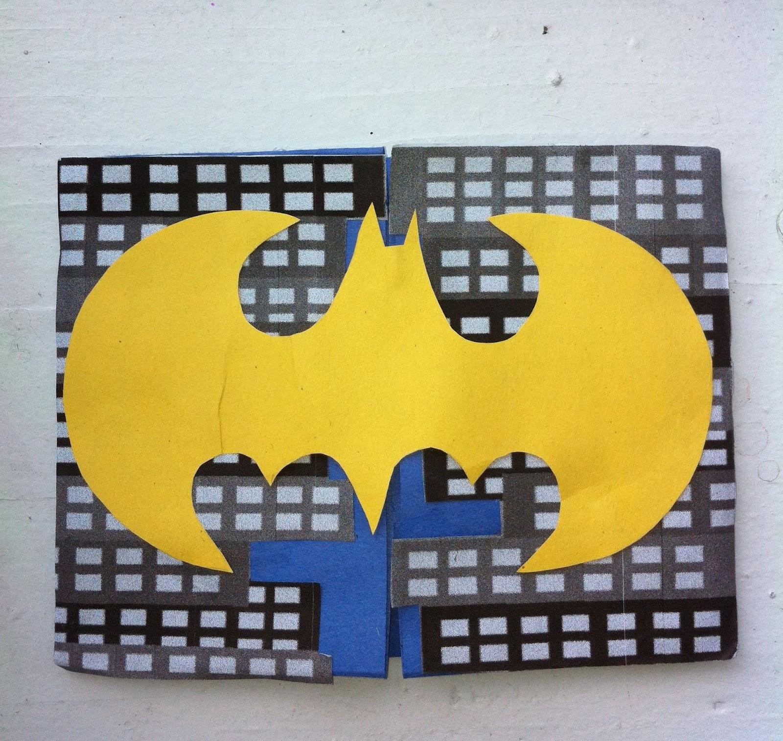 Fabiana Carter : Batman party invitation