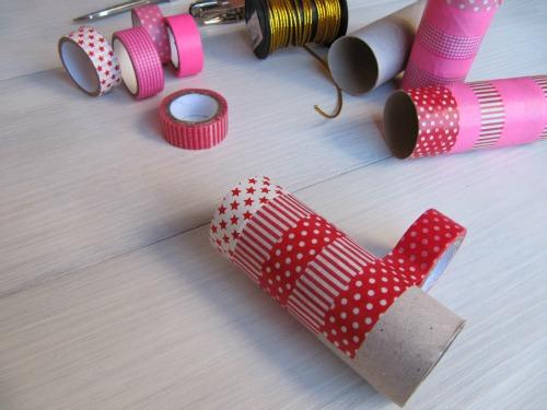 Washi tape para cubrir el rollo