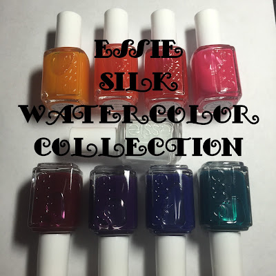 essie Silk Watercolor Collection
