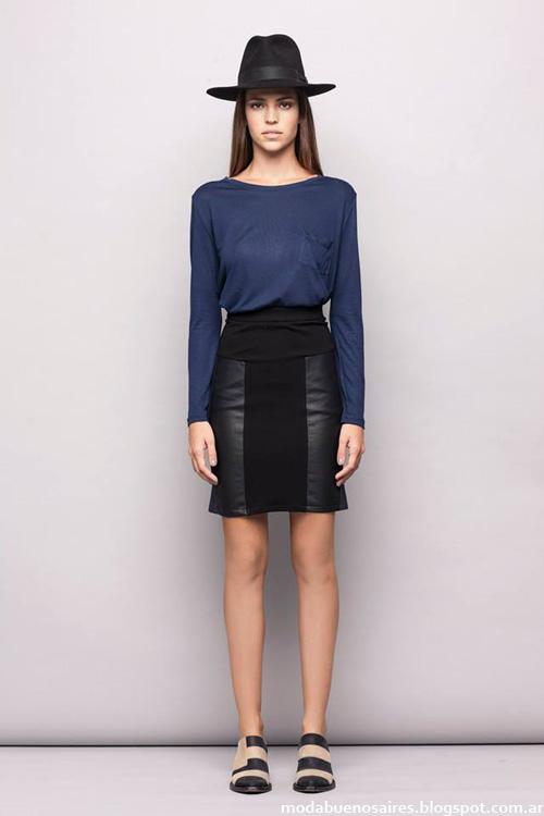 Faldas de moda invierno 2014 Awada.