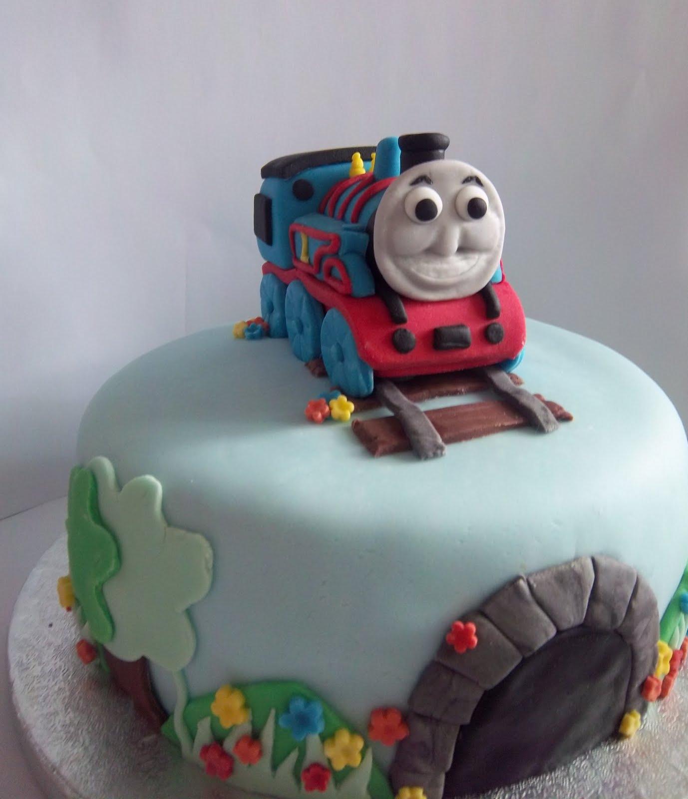 Bits N Bobs Thomas The Tank Engine 1st Birthday Cake