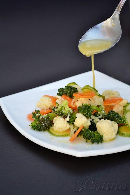 Σαλάτα με ωμά λαχανικά / Raw vegetables salad