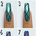 Abstract Holo Nail Art Tutorial