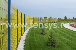 Забор металлический сварной Fensys. Фото 10
