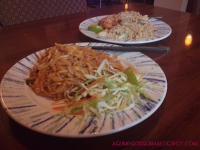 trying out a thai restaurant