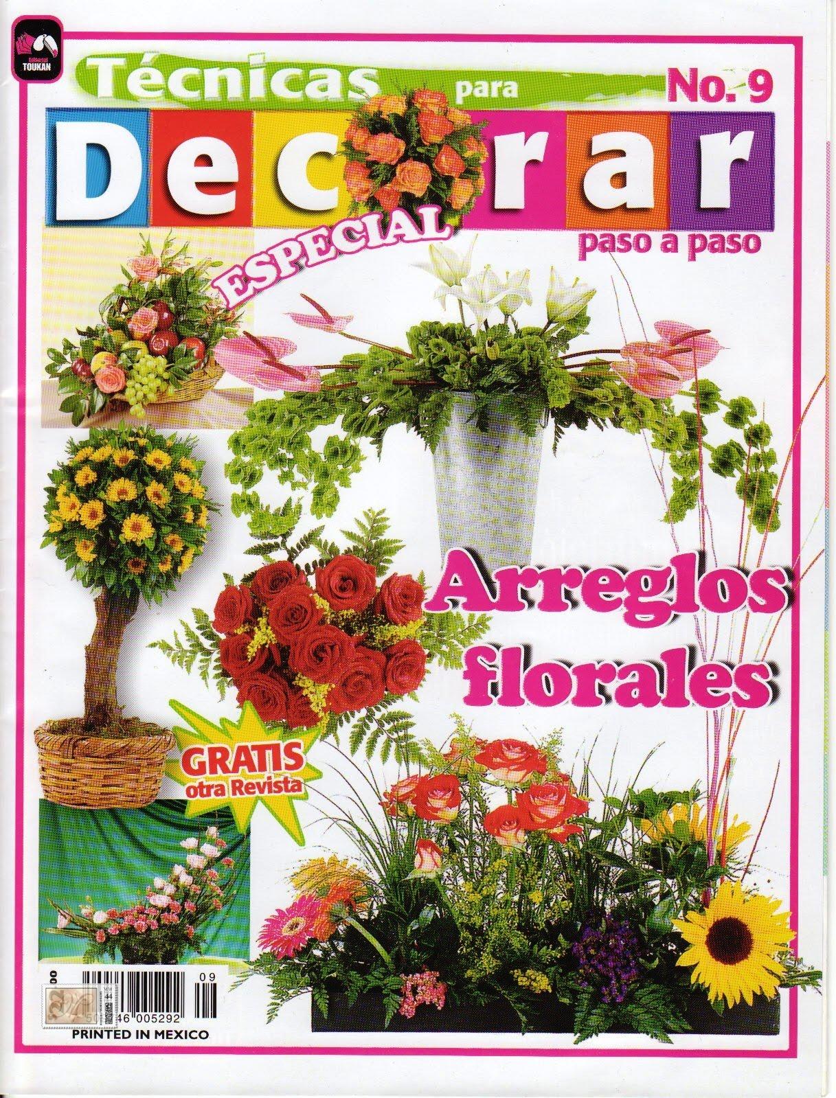 Manualidades: TECNICAS PARA DECORAR , ARREGLOS FLORALES